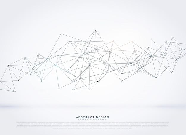 Abstratos, geométrico, malha, vetorial, fundo Vetor grátis