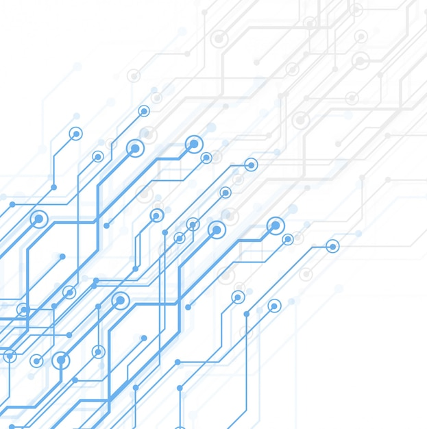 Abstratos, tecnologia, tábua circuito Vetor grátis