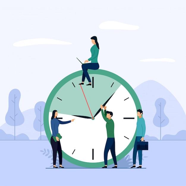 Agendar conceito ou planejador Vetor Premium