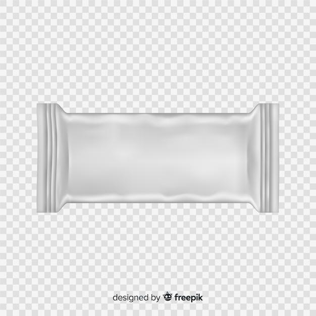 Almofada de lanche de comida Vetor grátis