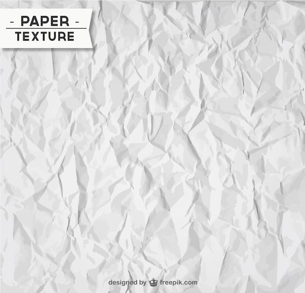 Amassado textura de papel Vetor grátis