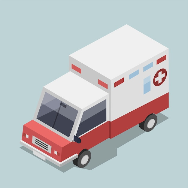 Ambulância Vetor grátis