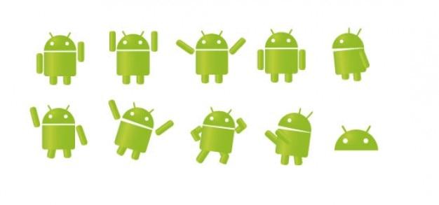 Android. Vetor grátis