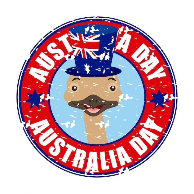 Animais austrália dia celebração Vetor grátis