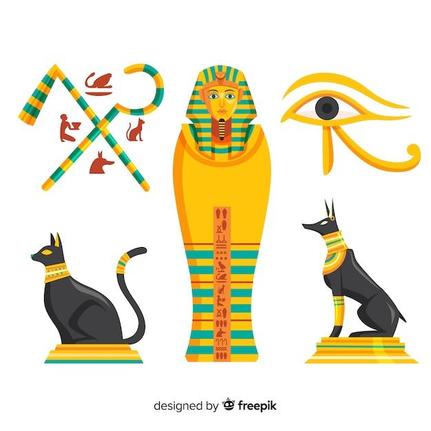 Antiga Egito Simbolo Cobranca Com Apartamento Desenho