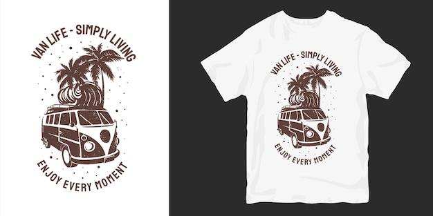 Aproveite cada momento, camisetas, designs, silhuetas Vetor Premium