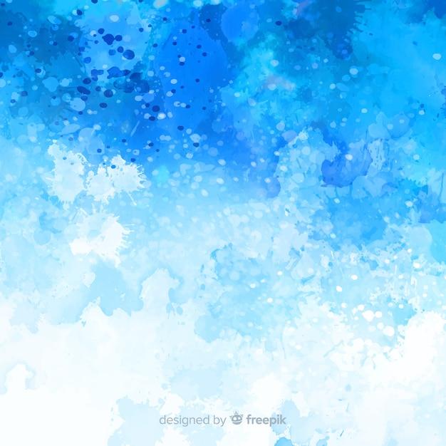 Aquarela abstrata manchas de fundo Vetor grátis