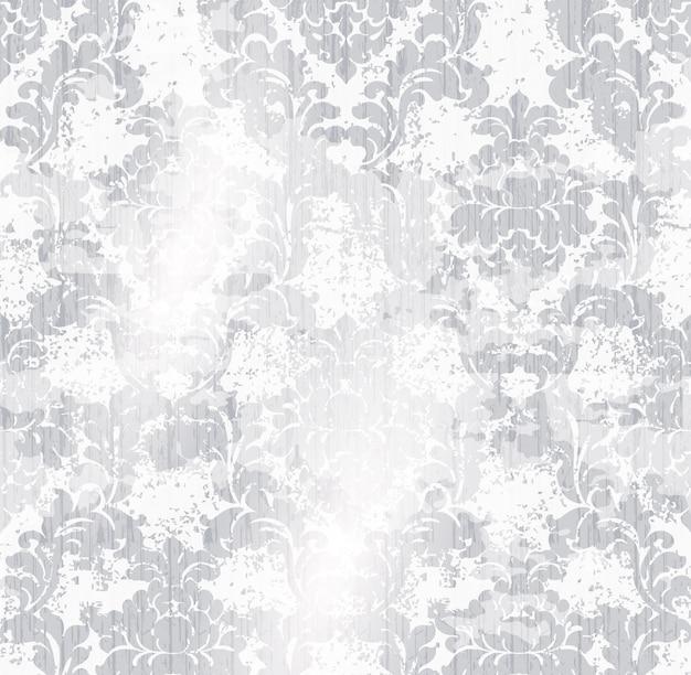 Aquarela de padrão clássico ornamento elegante. materiais delicados de texturas de cores Vetor Premium
