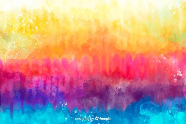 Arco-íris em estilo tie-dye de fundo Vetor grátis