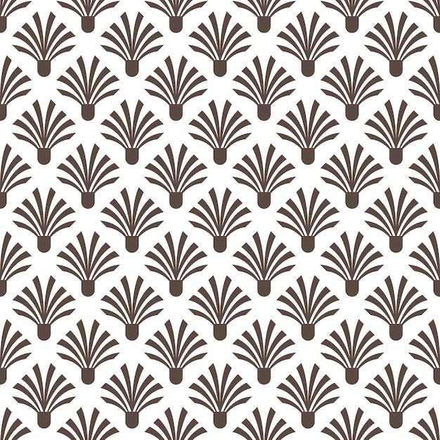 Art deco seamless pattern texture fundo decorativo Vetor Premium