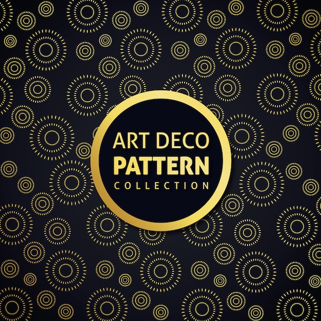 Art decor pattern Vetor grátis