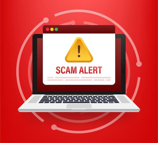 Ataque de hackers e conceito de segurança na web Vetor Premium