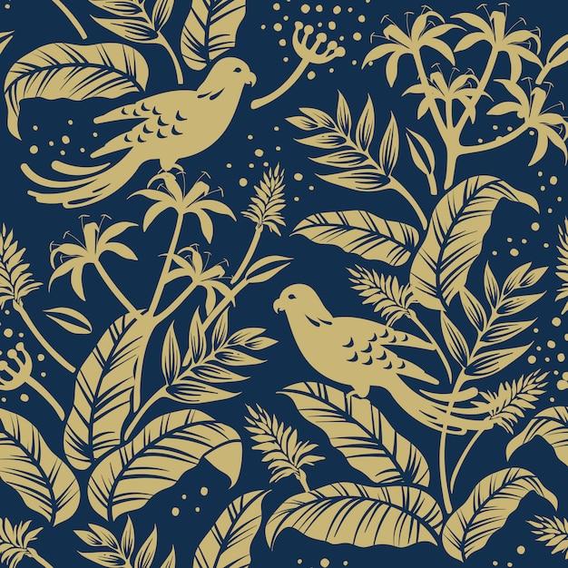 Aves no design da natureza Vetor grátis
