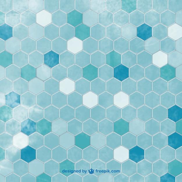 Azulejos hexagonais fundo baixar vetores premium - Azulejos hexagonales ...