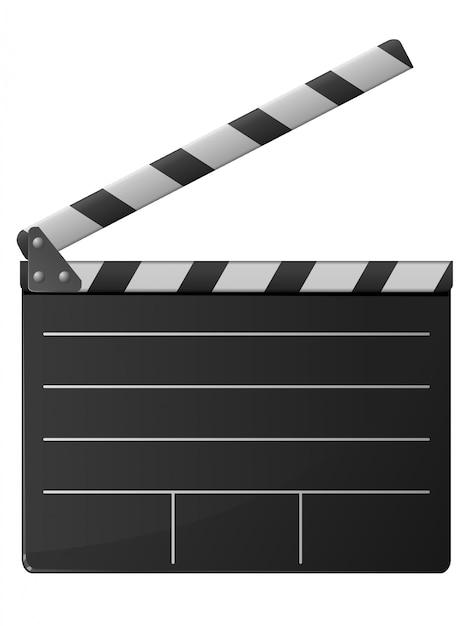 Badalo de cinema Vetor Premium