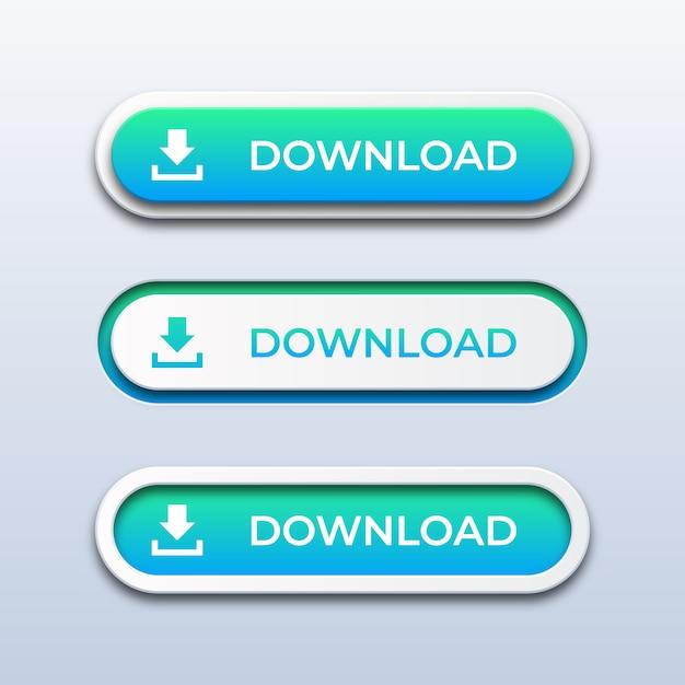 Baixar ícones Vetor Premium