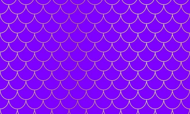 Balanças de sereia. fish squama. padrão kawaii. fundo aquarela. padrão de sereia. impressão em escala de cores. Vetor Premium