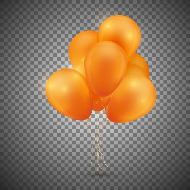Balão festivo. Vetor Premium