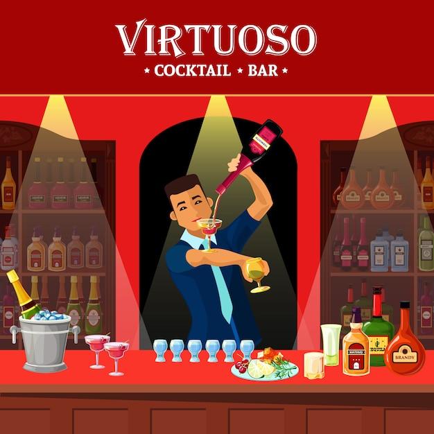 Balcão de bar Vetor grátis