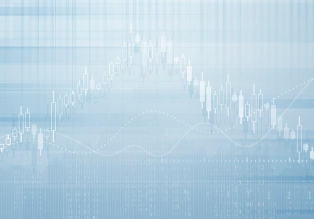 Banca de negócios gráfico vetorial de fundo Vetor Premium