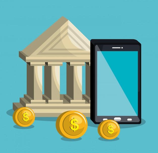 Banco móvel Vetor grátis