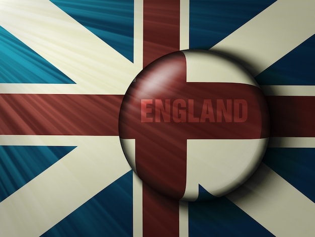 Bandeira britânica Vetor Premium