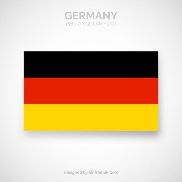 Bandeira da alemanha Vetor grátis