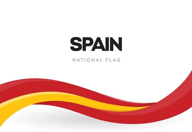 Bandeira espanhola Vetor Premium