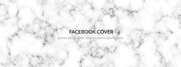 Banner de textura de mármore Vetor Premium