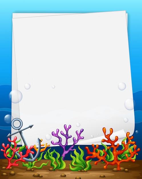 Banner e recife Vetor grátis