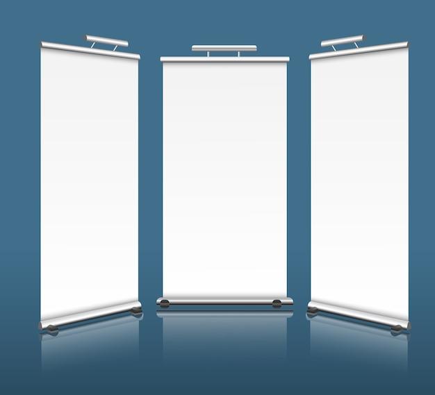 Banners verticais Vetor Premium