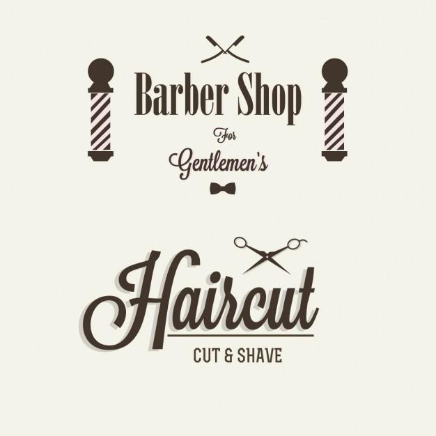 Barbearia Vetor grátis