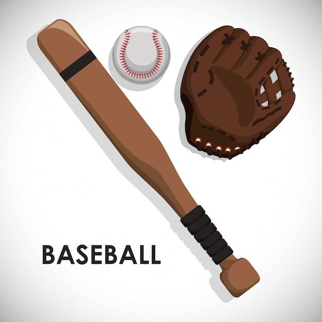 Beisebol Vetor Premium