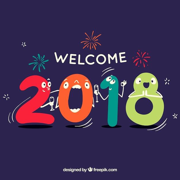 Resultado de imagem para bem vindo 2018