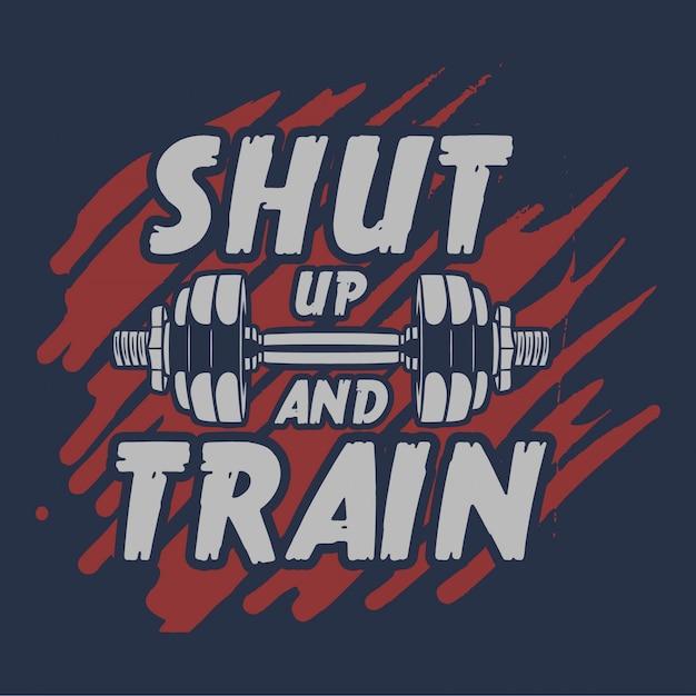 Besta modo nunca dorme citação slogan motivação panfleto cartaz musculação ginásio fitness homem músculo para negócios Vetor Premium