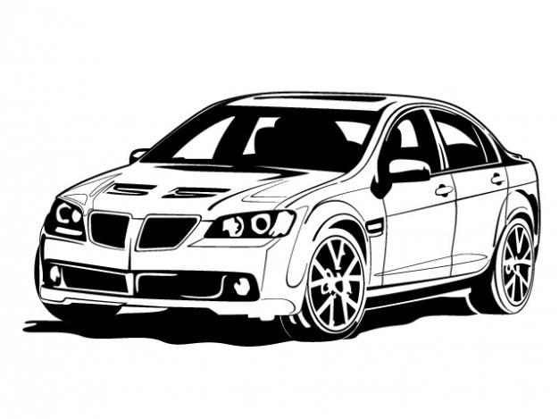black sports car clipart - photo #41