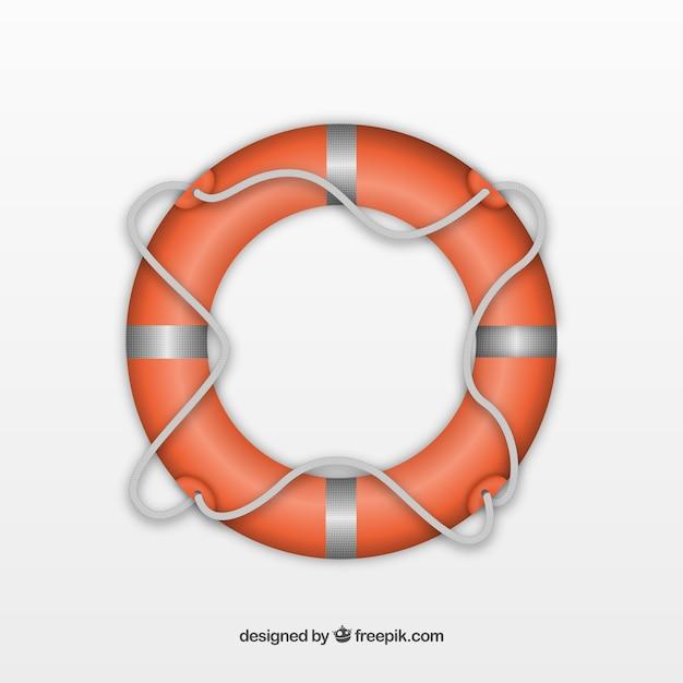 Bóia salva-vidas Vetor grátis