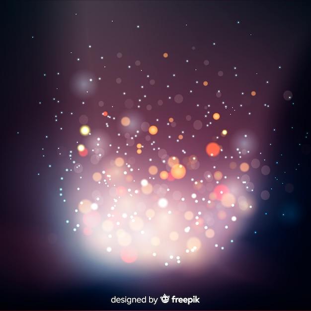 Bokeh abstrata luzes de fundo Vetor grátis