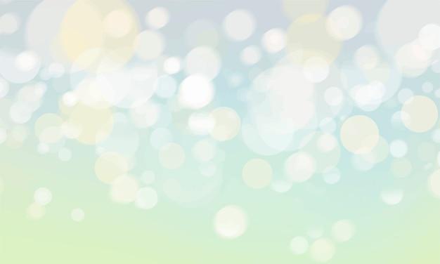 Bokeh abstrata turva luzes papel de parede Vetor grátis