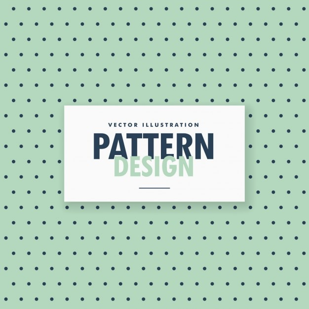 Bolinhas simples padrão de fundo Vetor grátis