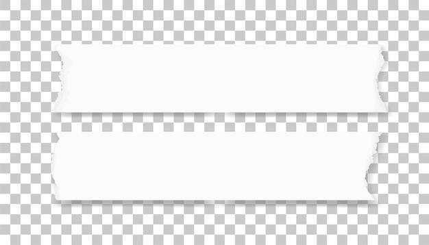Bordas de papel rasgadas para o fundo. Vetor Premium