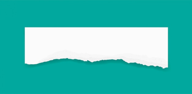 Bordas de papel rasgado para o fundo. fundo de textura de papel rasgado. Vetor Premium