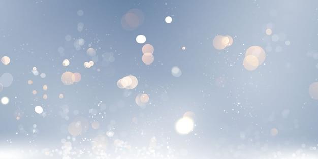 Borrão de luz abstrata Vetor Premium