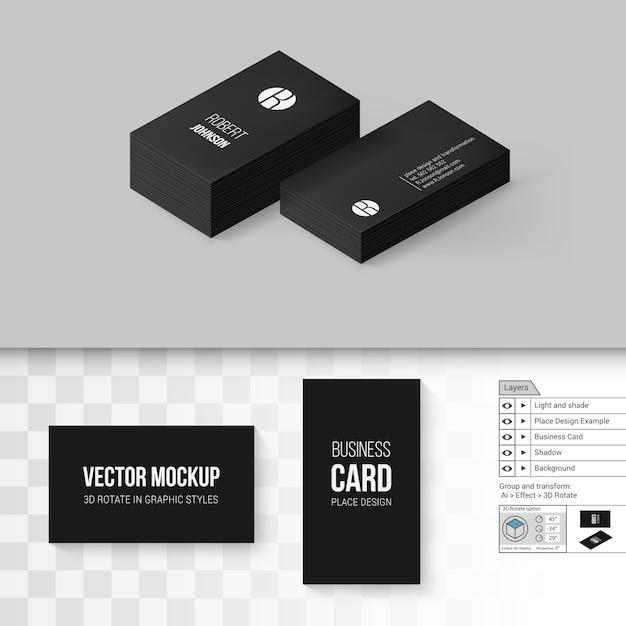 Branding mock up Vetor Premium
