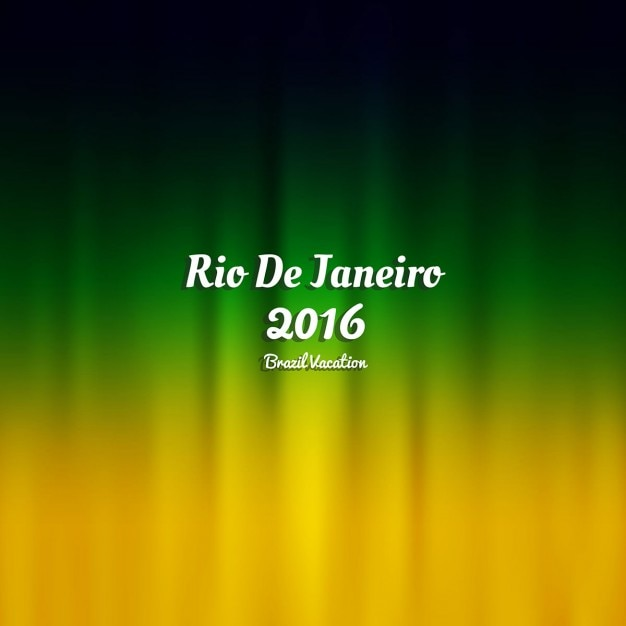 Brasil colore o fundo Vetor grátis