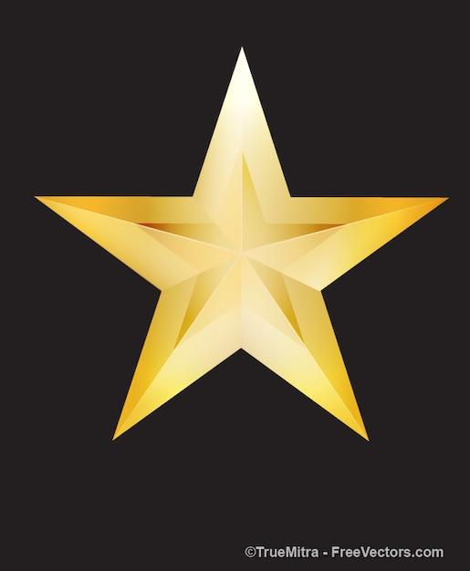 Aparador De Pelos Feminino Intimo ~ Brilhante estrela dourada cart u00e3o Baixar vetores grátis