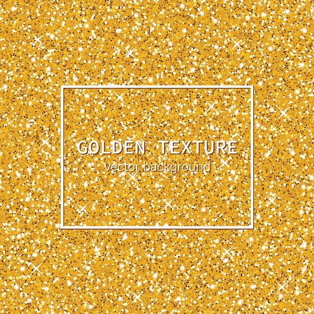 Brilhante textura dourada Vetor Premium