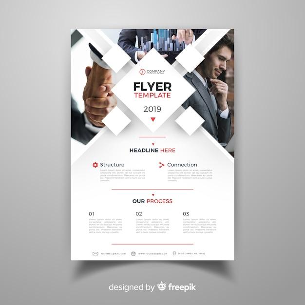 Brochura de negócios Vetor grátis