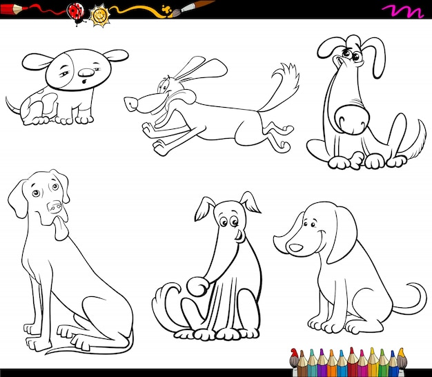 Desenhos De Cachorros Baixe Vetores Fotos E Arquivos Psd Gratis