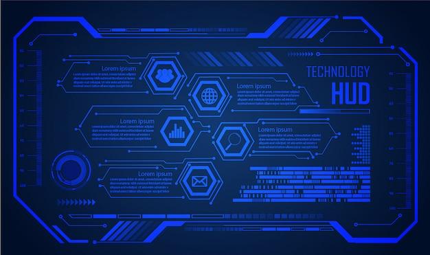 Caixa de texto, internet das coisas, tecnologia cibernética, segurança Vetor Premium